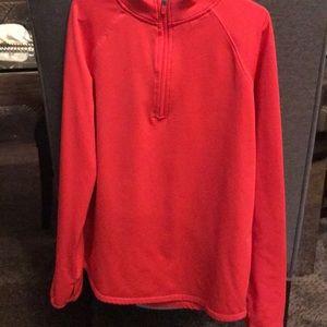 Neon Orange Justice Sweatshirt